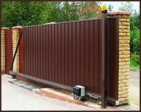 Откатные ворота под ключ за 65000 руб